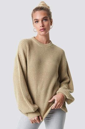 NA-KD Na Kd Dropped Shoulder Knitted Sweater