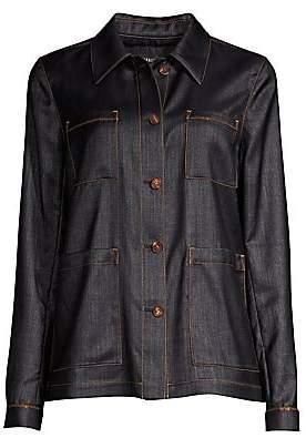 Lafayette 148 New York Women's Esmeralda Denim Jacket