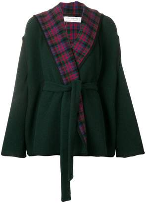 Philosophy di Lorenzo Serafini robe check jacket