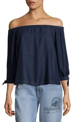 Paige Antonia Off-The-Shoulder Blouse