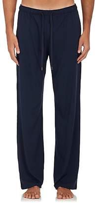 Derek Rose Men's Fluid Jersey Drawstring-Waist Pants - Blue