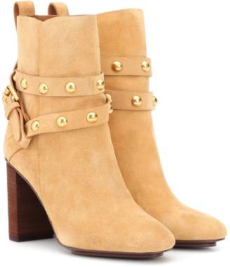 ca55944d5ad01 See by Chloe Janis suede ankle boots