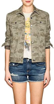 ATM Anthony Thomas Melillo Women's Camouflage Cotton Jacket