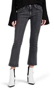 IRO Women's Jama Mid-Rise Flared Jeans - Black Size 26