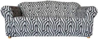 Sure Fit Statement Prints Zebra 3 Seater Sofa Cover