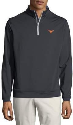 Peter Millar Men's University of Texas Longhorns Perth Quarter-Zip Sweater
