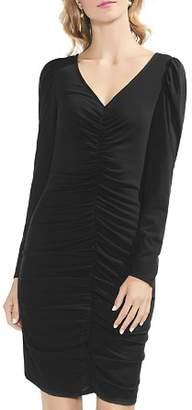 Vince Camuto Puff Shoulder Cinched Dress