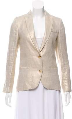 Zadig & Voltaire Structured Linen Blazer