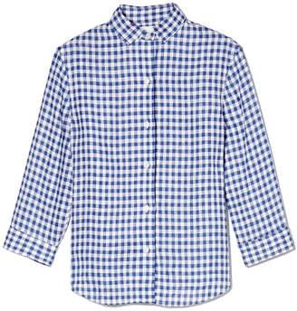 R 13 Quarter-Length Sleeve Oxford Shirt