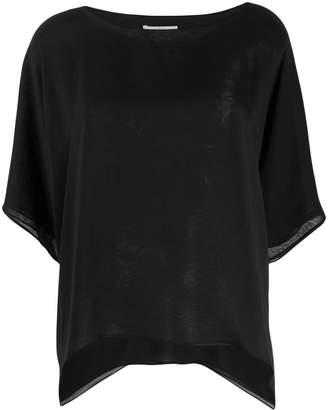 Dusan boat neck blouse