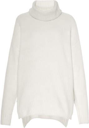 ATM Oversized Chenille Turtleneck Sweater Size: XS