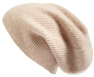 Halogen ® Slouchy Cashmere Beanie $45 thestylecure.com