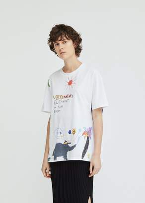 Vetements Elephant Red Sun T-Shirt