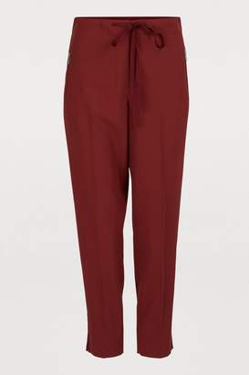 Bottega Veneta Straight-cut pants