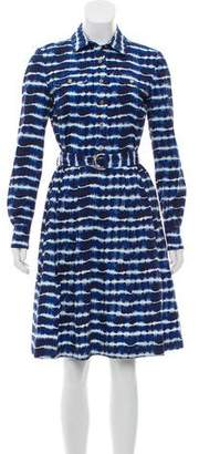 Tory Burch Printed Shirt Dress