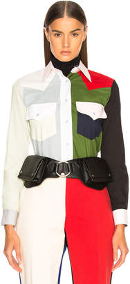 Calvin Klein Colorblocked Shirt