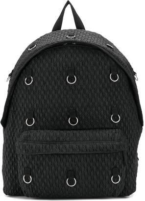 Raf Simons Eastpak x ring embellished backpack