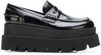 MM6 MAISON MARGIELA platform loafers