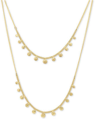 """lonna & lilly Gold-Tone Dangle Layered Necklace, 16"""" + 3"""" extender"""