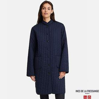 Uniqlo Women's Quilted Long Coat (ines De La Fressange)