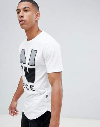Nicce London campus logo t-shirt in white