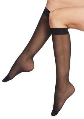 Wolford Individual 10 Sheer Knee Highs