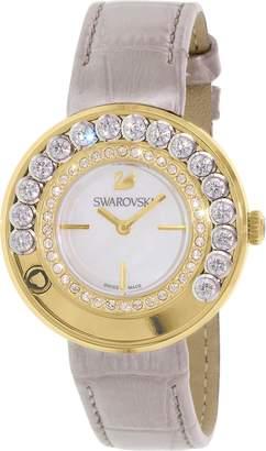 Swarovski Women's Lovely Crystals 5027203 Leather Swiss Quartz Watch