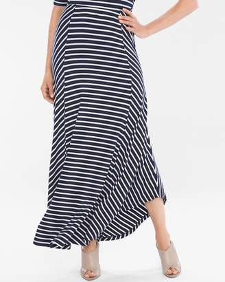 Chico's Chicos Striped Maxi Skirt