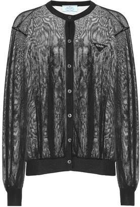 Prada Wool-blend cardigan