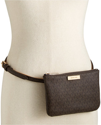 MICHAEL Michael Kors Signature Fanny Pack, A Macy's Exclusive Style $58 thestylecure.com