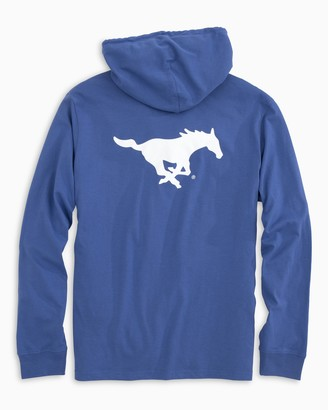 Southern Tide Gameday Skipjack Hoodie T-shirt - Southern Methodist University