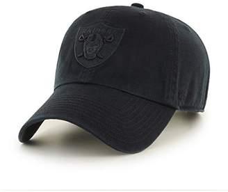 '47 Oakland Raiders Clean Up Dad Hat Cap All Black