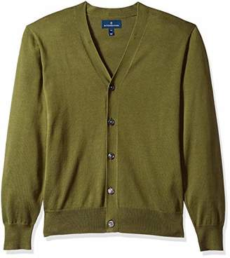 Buttoned Down Men's Supima Cotton Cardigan Sweater,XXX-Large