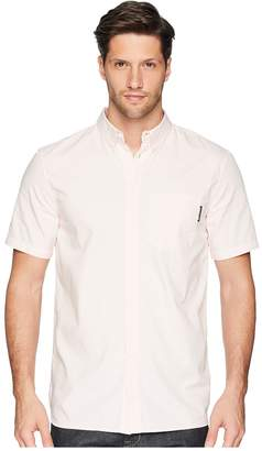DC Classic Oxford Light Short Sleeve Woven Top Men's Short Sleeve Pullover