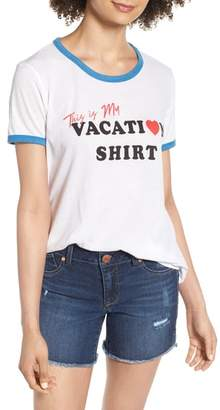 Wildfox Couture Vacation Johnny Ringer Tee