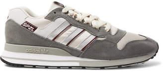 adidas Consortium Consortium - SPEZIAL ZX530 Suede, Leather and Mesh Sneakers - Men - Gray