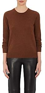 Barneys New York Women's Cashmere Crewneck Sweater - Brown
