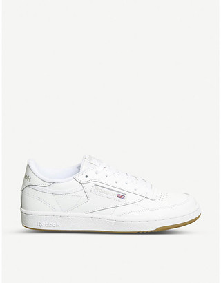 Reebok Club c 85 leather low-top trainers