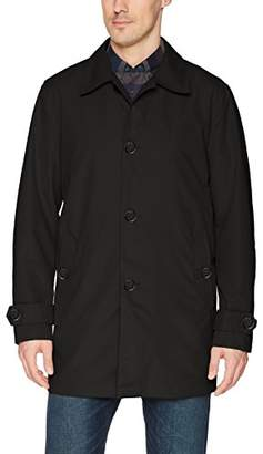 Cole Haan Men's Classic Stand Collar Rain Jacket
