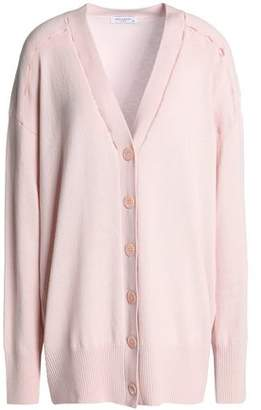 Equipment Cutout Wool And Cashmere-blend Cardigan