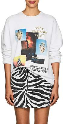 ADAPTATION / BORN X RAISED Women's Graphic Cotton Terry Sweatshirt