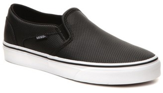 Vans Asher Perforated Slip-On Sneaker - Women's
