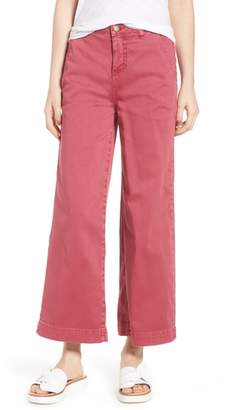 Caslon Wide Leg Crop Pants