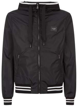 Dolce & Gabbana Hooded Lightweight Jacket