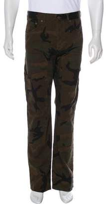 Louis Vuitton x Supreme 2017 Camouflage Dungaree Jeans w/ Tags