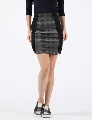 Damir Doma SILENT Black Rioda Geometric Skirt