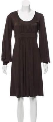 MICHAEL Michael Kors Scoop Neck Knee-Length Dress
