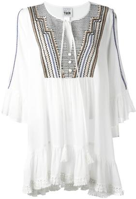Twin-Set embroidered tunic $168.42 thestylecure.com