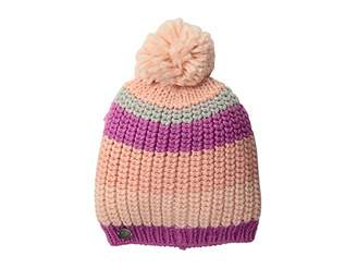 Obermeyer Stripe Pom Knit Hat
