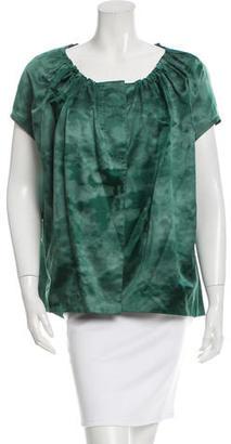 Vera Wang Silk Sleeveless Blouse $95 thestylecure.com